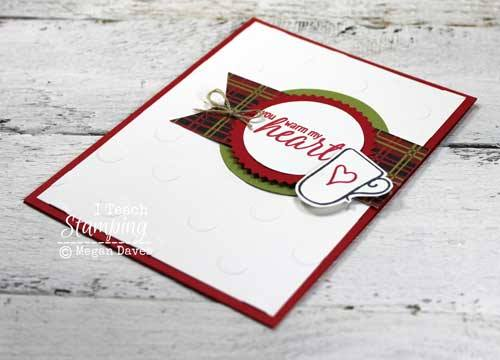 Check out this SUPER easy handmade greeting card!