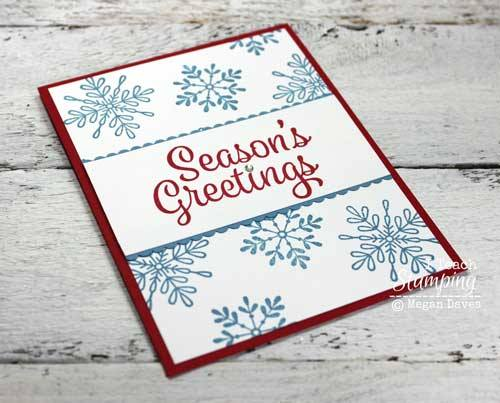 Click through if you are looking for easy christmas card ideas