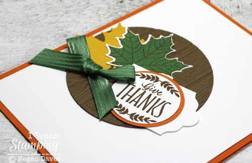 Creating a focal point on a handmade card saves you tons