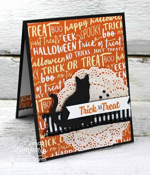 Spooky Halloween Cat Cards to Make