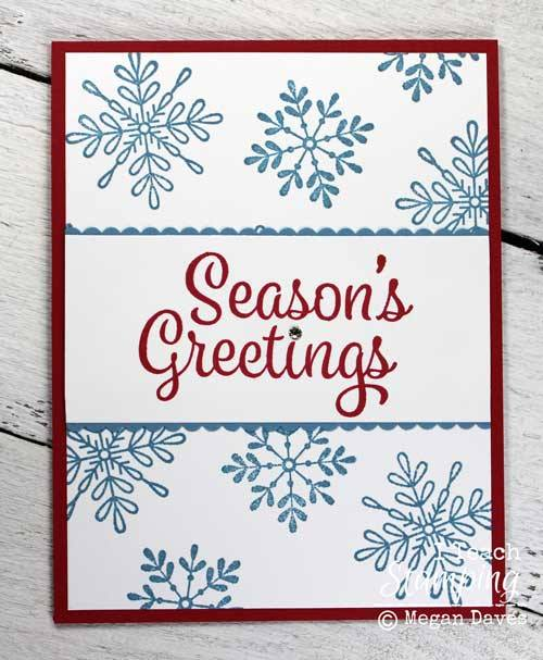 Easy Christmas Card Making Ideas for one or many cards