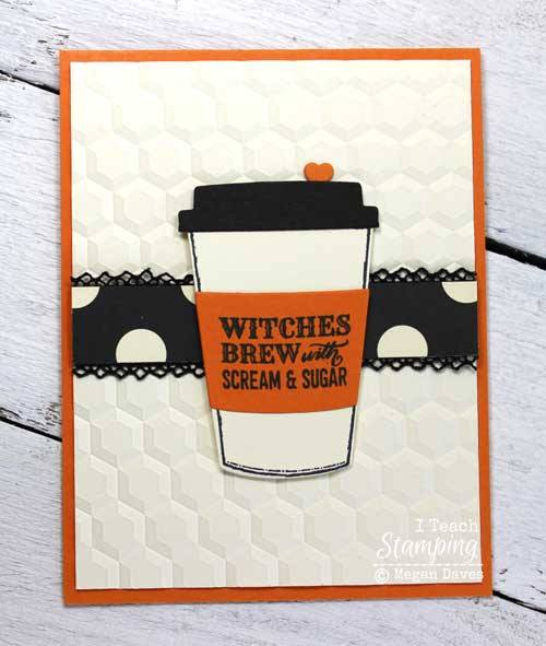 Easy Halloween craft cards for sharing