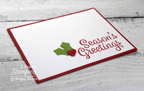 Get your Christmas preparation started early this year with this cute card