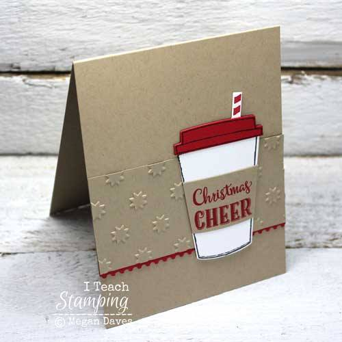 Grab a free embossing folder - no Stampin' Up! coupon code needed