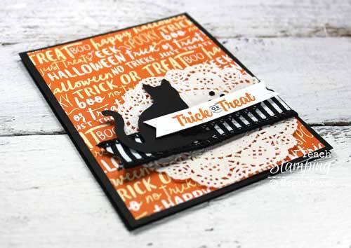Halloween cat cards to make and share