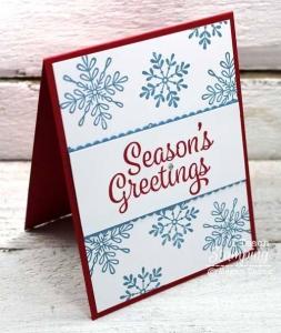 I LOVE Sharing Easy Christmas Card Making Ideas!