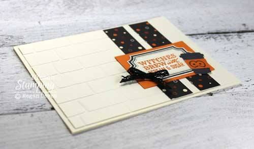 Make and send some treats with some Stampin Up! Halloween Cards 2017