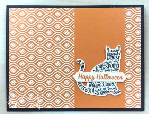Make some easy DIY Halloween Cards