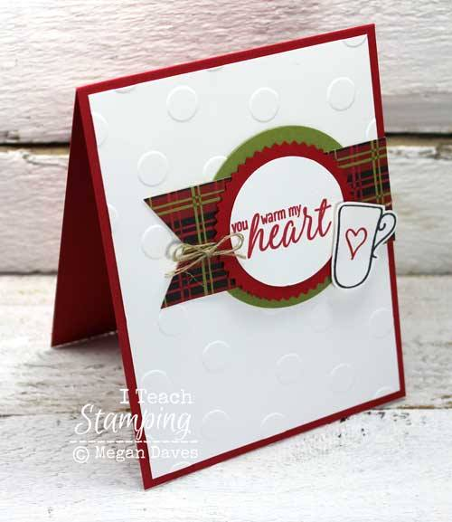 Make this really fast and easy handmade greeting card for anyone