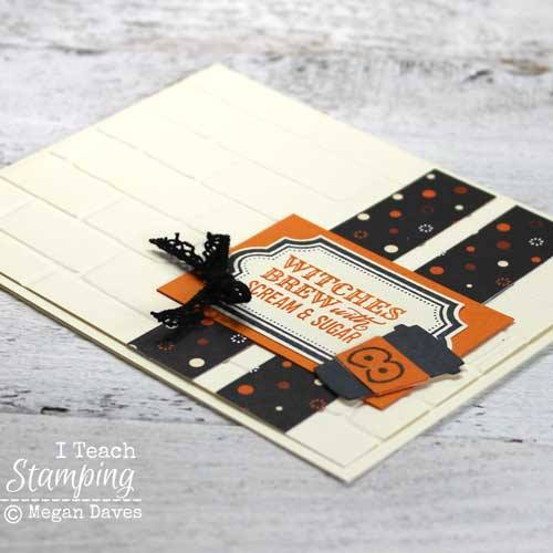 Treats for grown ups with Stampin' Up! Halloween Cards 2017