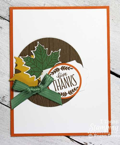 Use an outstanding focal point to make your handmade cards pop
