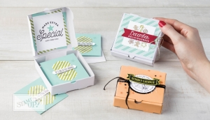 Stampin' Up! Mini Pizza Boxes – LOADS of Ideas!