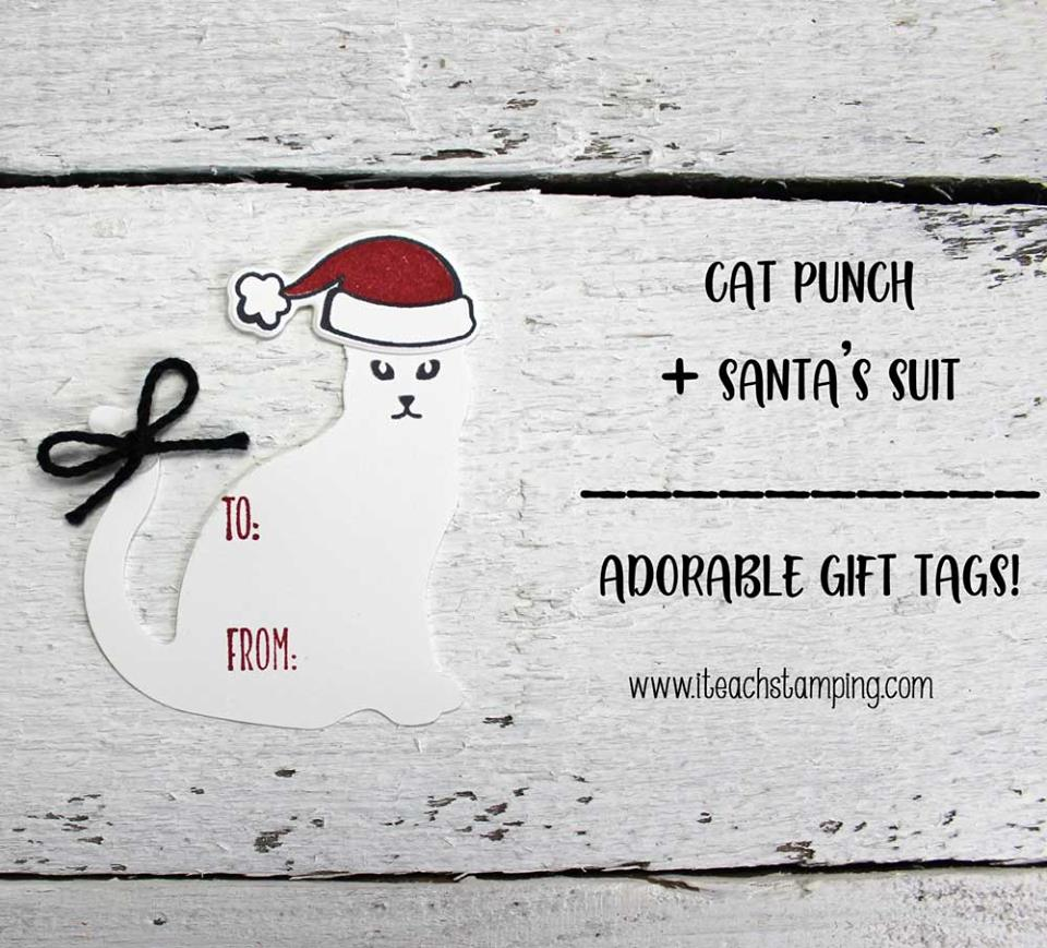 Custom gift tags for cat lovers everywhere!