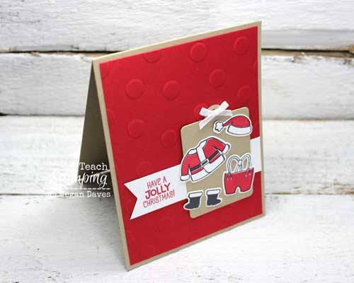 How To Make Santa Claus Greeting Cards