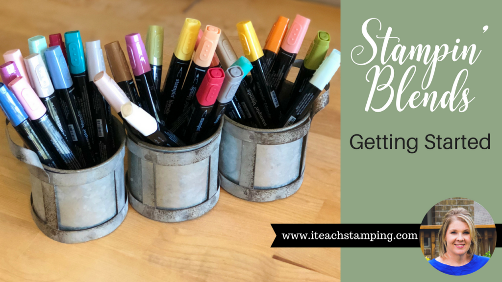 Learn More About Stampin Blends