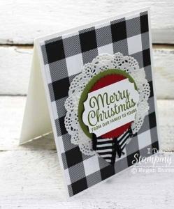 Comfy Cozy Plaid Christmas Cards