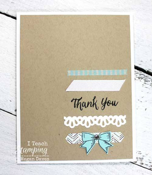 A quick and easy way to use your paper scraps