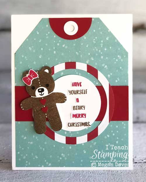 A Beary special Christmas card for someone special