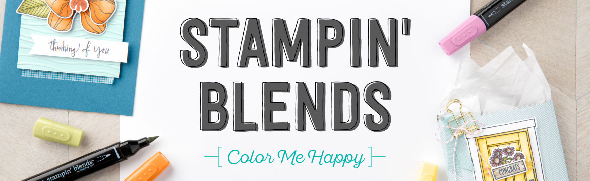 Extra Stampin' Blends Colors Without Extra Money!