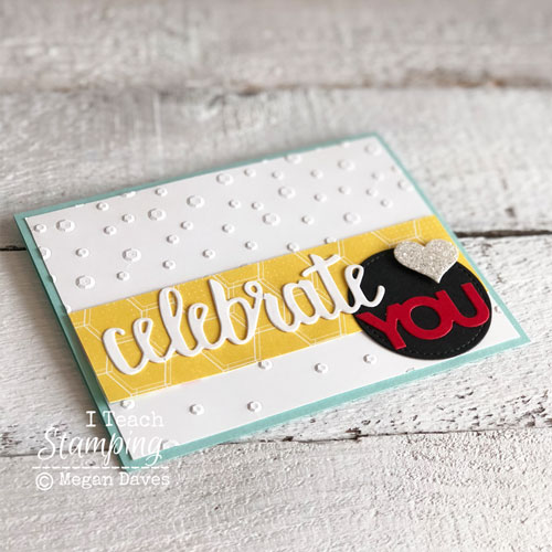 Stampin Up Celebrate You Thinlits