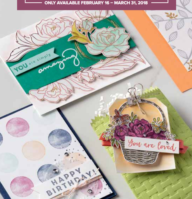 New Items Released for 2018 Sale A Bration with Stampin Up