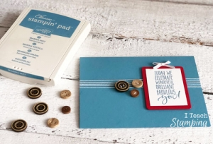 Quick and Easy Masculine Birthday Card