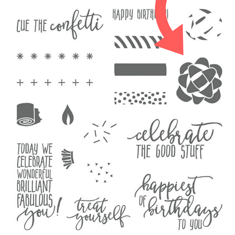 Stampin Up Picture Perfect Birthday stamp set