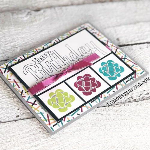 Stampin Up Picture Perfect Birthday | Occasions Catalog 2018
