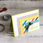 What can you do with washi tape | making a card