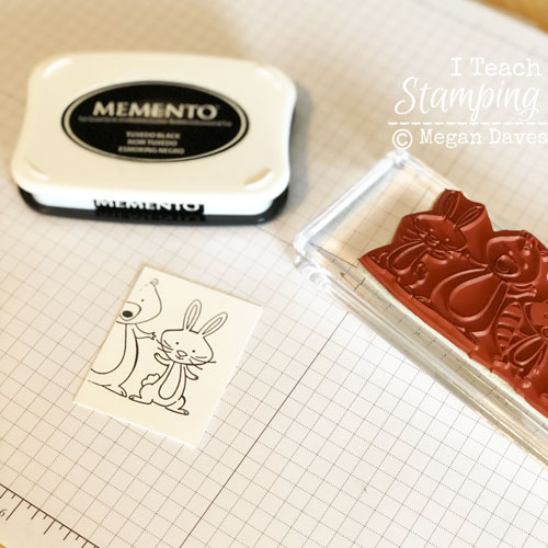 handmade easter card | just stamping part of your stamp