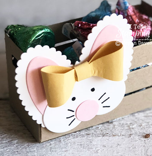 Paper Easter Basket Craft