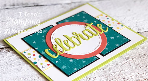 patterned paper for card making | Check out that die cut