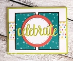 patterned paper for card making | Finished Card