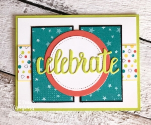 Patterned Paper for Card Making | Using Scraps