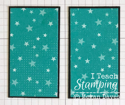 patterned paper for card making | Step 6