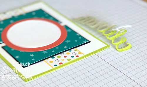 patterned paper for card making | Step 8