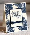 quick tutorial using Stampin Ups Heartfelt Blooms