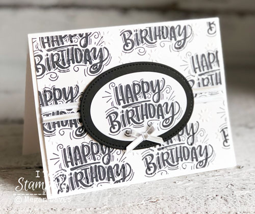 Making Monochromatic Birthday Cards