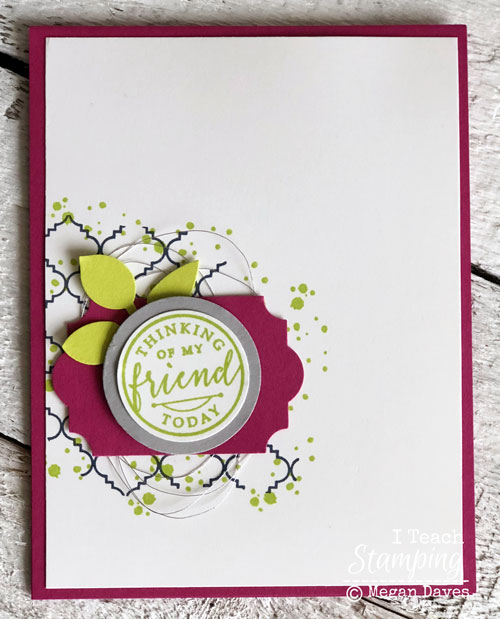 Stampin Up's Hello Again {Retiring Stamp Set}