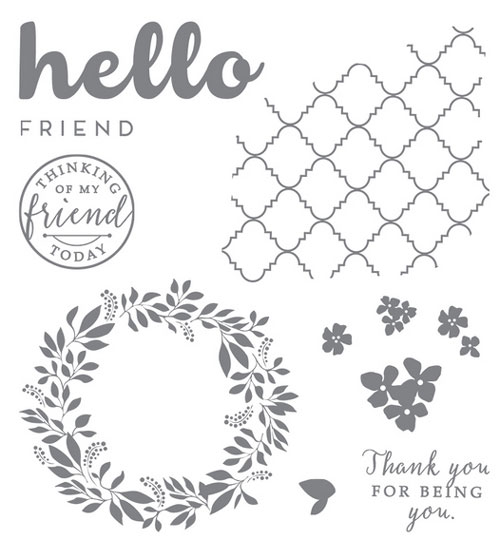 Stampin Up's Hello Again | Stamp Set