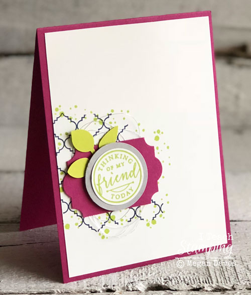 Stampin Up's Hello Again