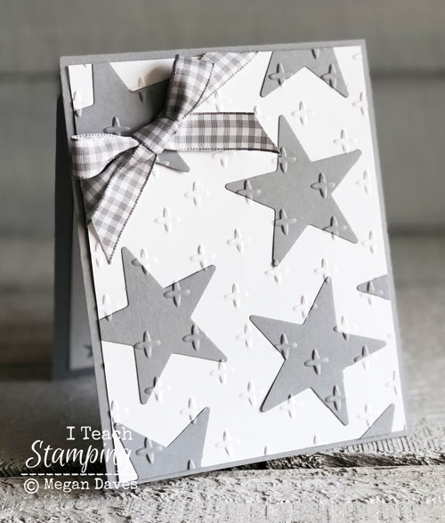 Mini Treat Bag Thinlits | Front of card