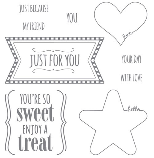 Mini Treat Bag Thinlits | Youre so sweet stamp set