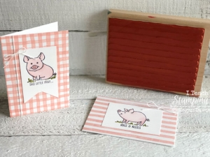Don't Forget this One:  Stampin Up Brushstrokes