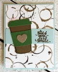 Stampin Up Coffee Break Paper – Retiring :(