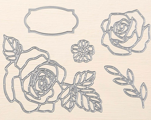 Stampin Up Rose Wonder | Framelits
