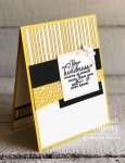 Use up your patterned paper scraps | mixed with painted harvest stamp set