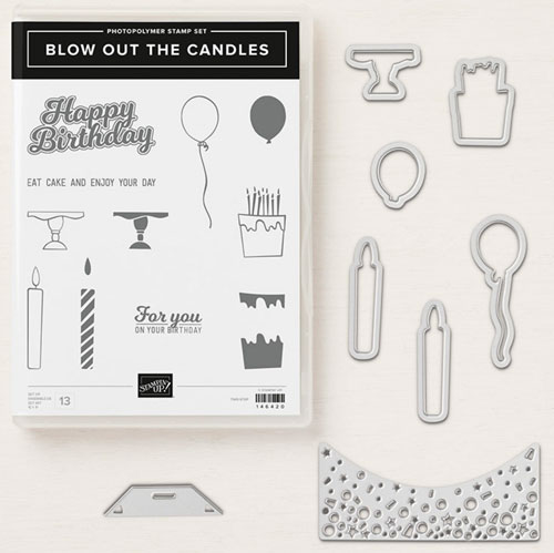 Handmade birthday cards for guys | Blow out the candles bundle