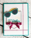 Stampin Up Pocketful of Sunshine | The entire Card