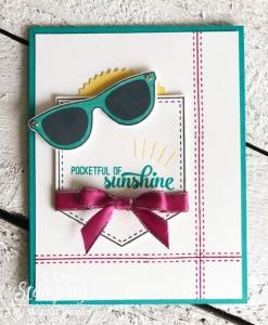 Stampin Up Pocketful of Sunshine & the Stamparatus